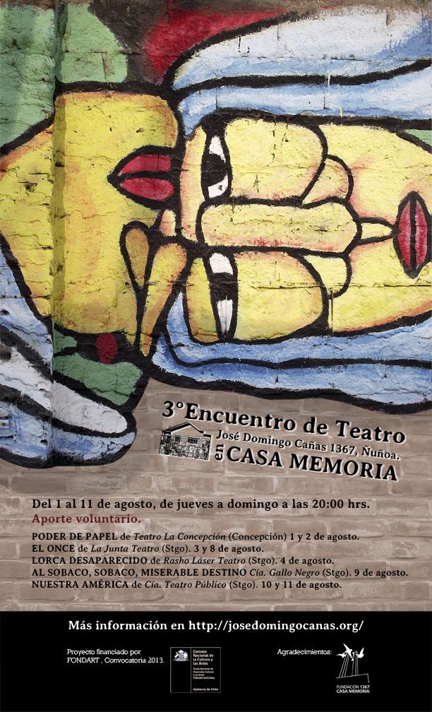 afiche web 3er Encuentro