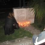 Imagenes de la conmemoración de un nuevo 11 de septiembre en Casa Memoria