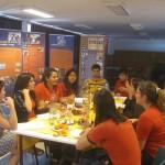 Grupo de trabajo del Colegio Mariano Egaña